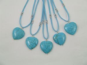 Stabilised Turquoise Heart